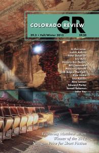 Colorado Review Fall/Winter 2012