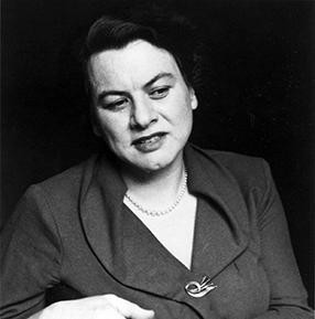 Muriel Rukeyser head shot.