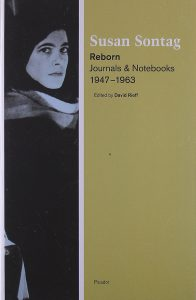 Book cover for Reborn by Susan Sontag