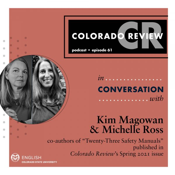 August 2021 Podcast: In Conversation with Michelle Ross and Kim Magowan