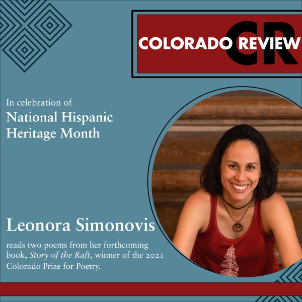 Latinx Reading Series: Leonora Simonovis | two poems from Study of the Raft